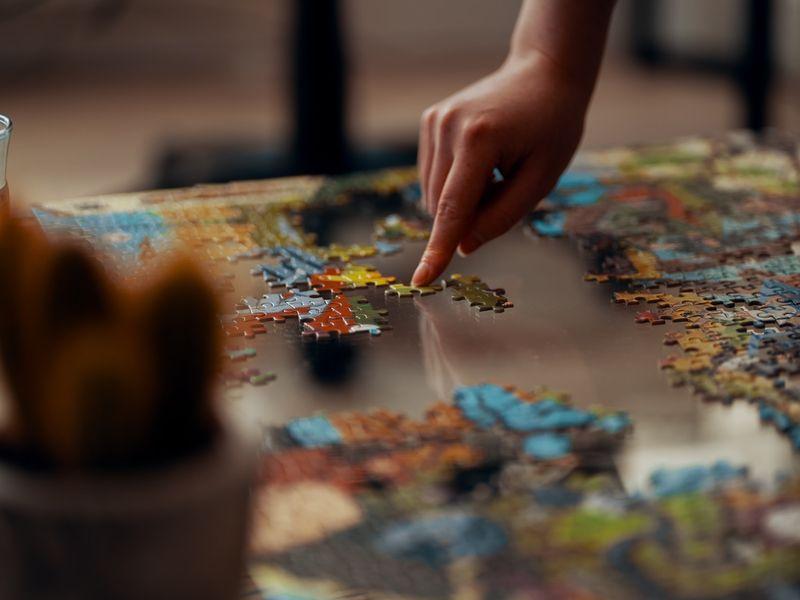 Puzzle - imagine cu scop ilustrativ