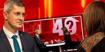 """Dan Barna vine marți, la """"40 de întrebări cu Denise Rifai"""""""