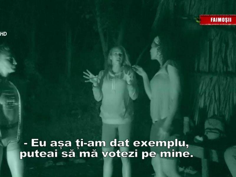 Roxana Nemeș, tradată de Elena Marin la Survivor România