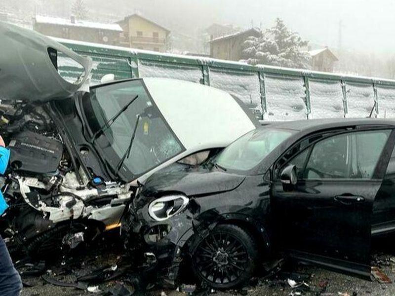 Accidentul din 13 februarie, de pe autostrada Torino-Bardonecchia