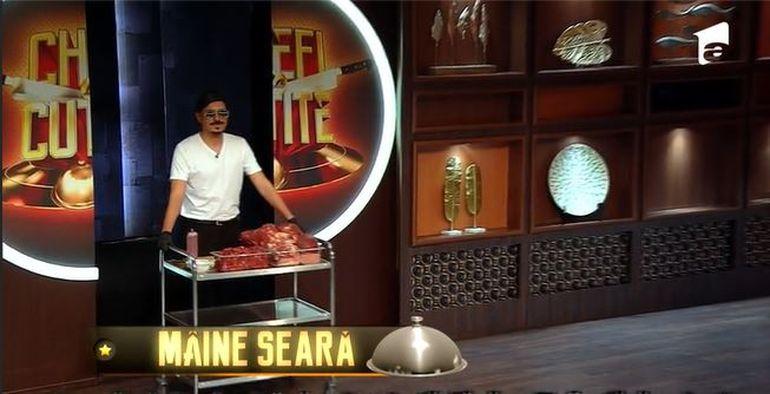 """Chefi la cuțite 2021, 1 martie. George Tănase îl aduce pe celebrul Salt Bae în fața juraților. """"Nu te strâmba, pune mâna și gustă!"""""""