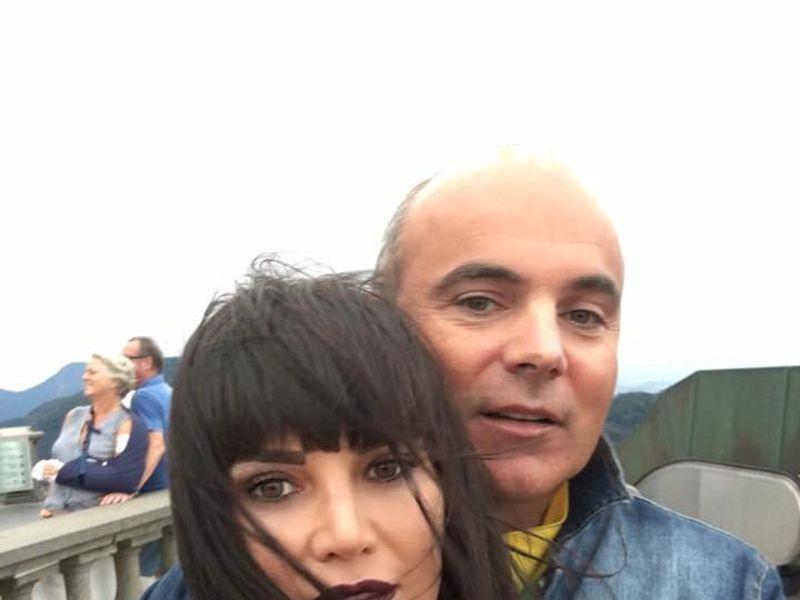 Rareș Bogdan și soția