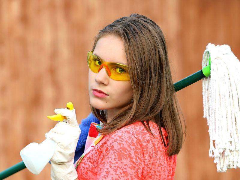 Cum sa faci curatenie si sa ai mai mult timp liber
