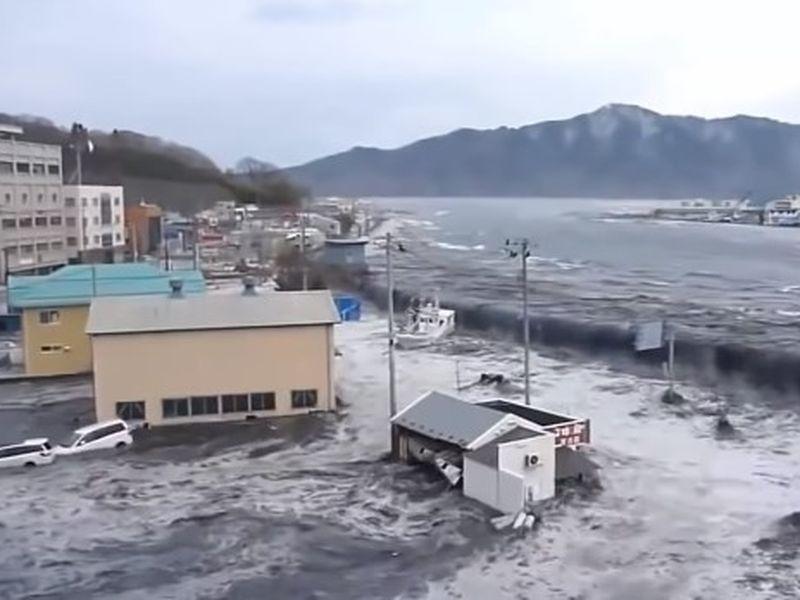 Tsunamiul care a lovit Japonia în 2021