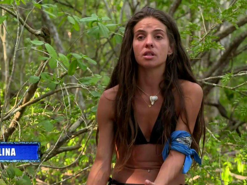 Mellina plânge în hohote la Survivor România