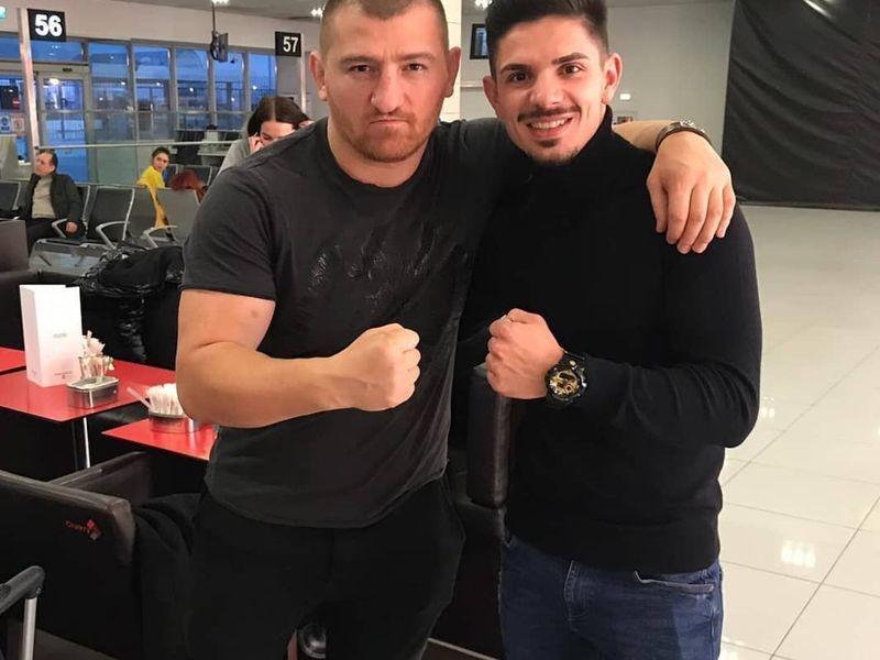 Cătălin Moroșanu și Marius Crăciun