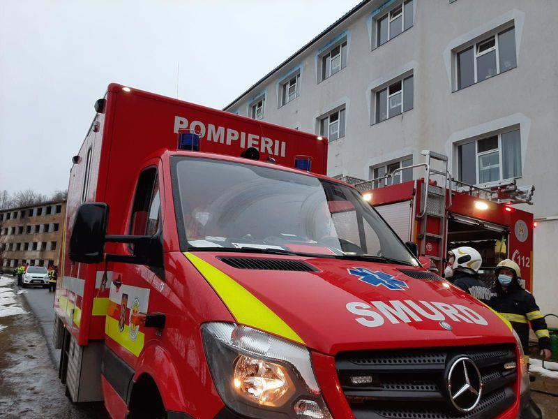 Un alt spital a luat foc!