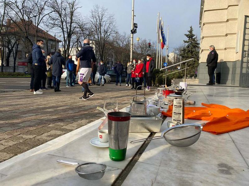 Proteste horeca