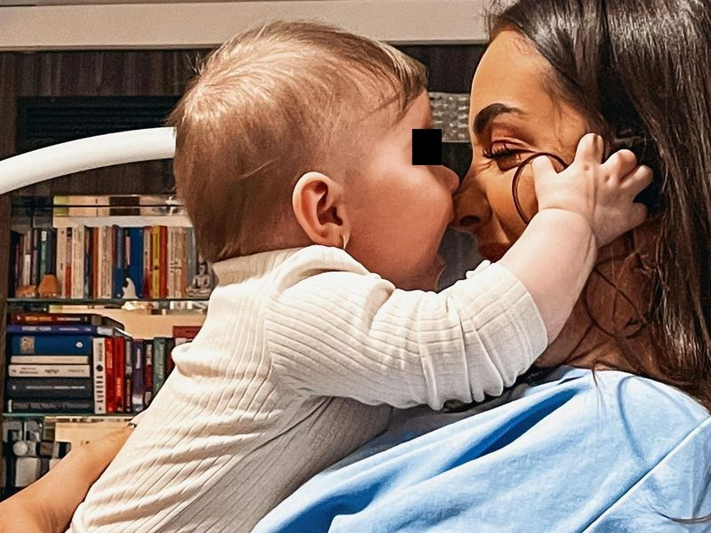 Ștefania, iubita lui Speak, s-a afișat cu un copil pe Internet! Incredibil ce au spus internauții: