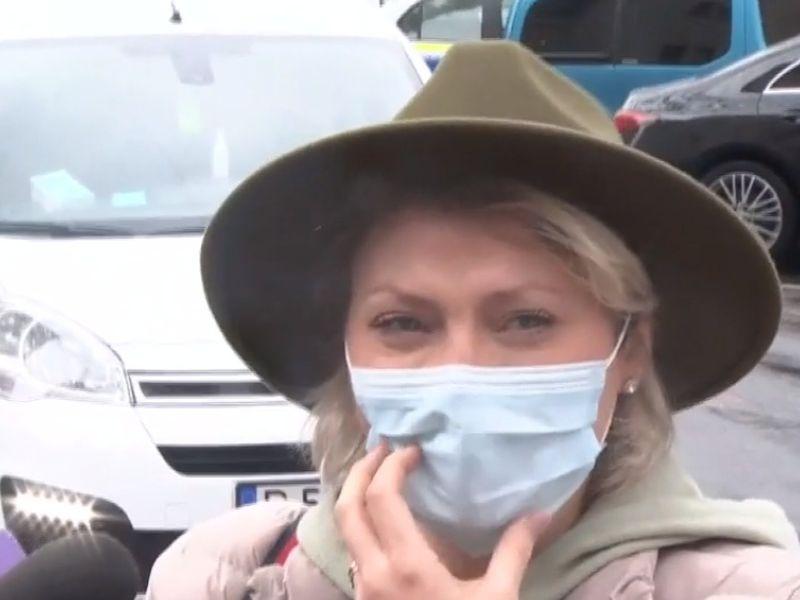 Mirela Vaida, în lacrimi la secția de poliție! Prezentatoarea primește amenințări în continuare: