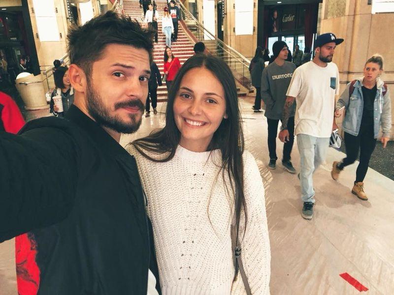 Alex Mațaev și Alexandra Dragnea