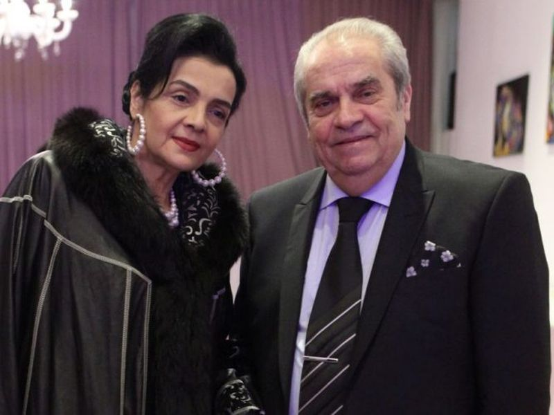 Cornelia Catanga si Aurel Padureanu