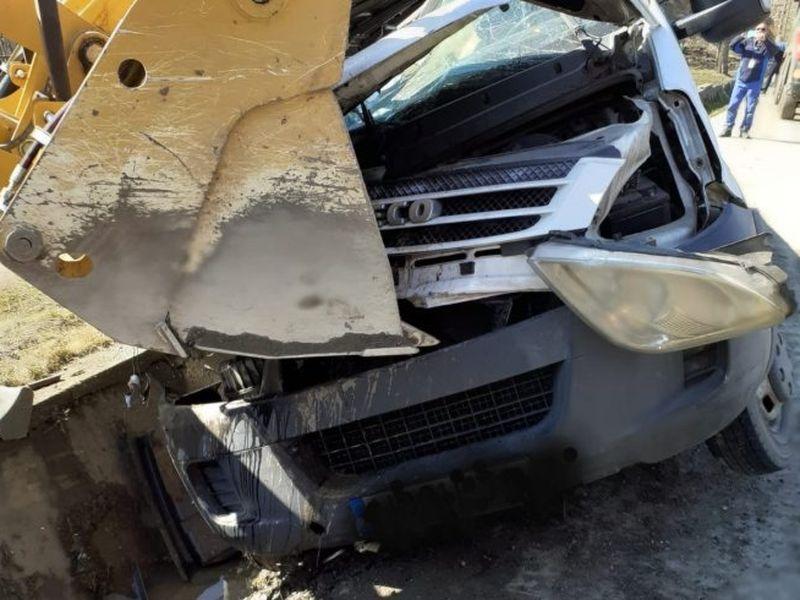 Accident tragic pe DN 66