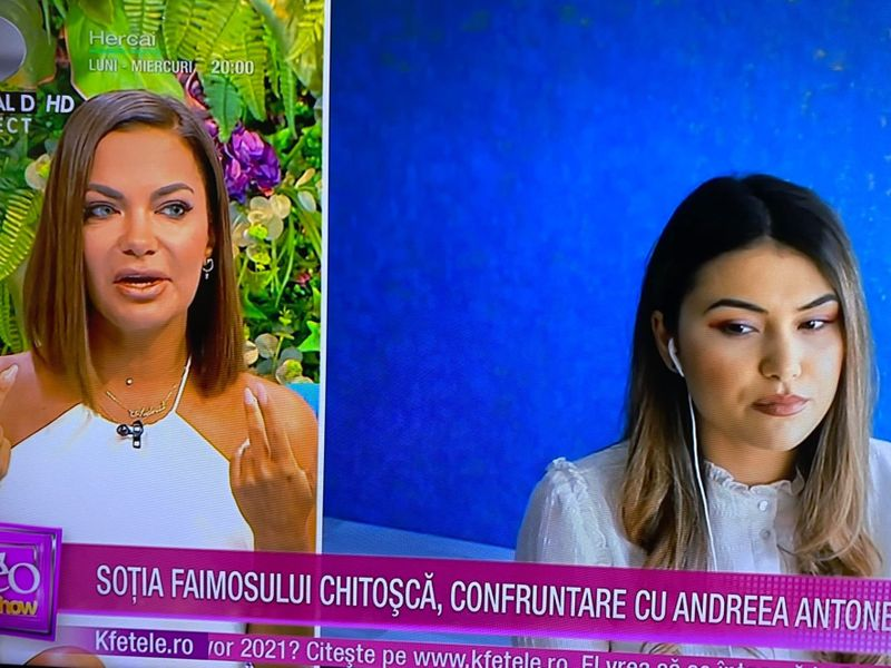 Andreea Antonescu și Alexandra Chitoșcă