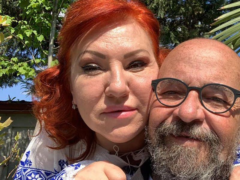 Cristian Popescu Piedone şi soţia sa