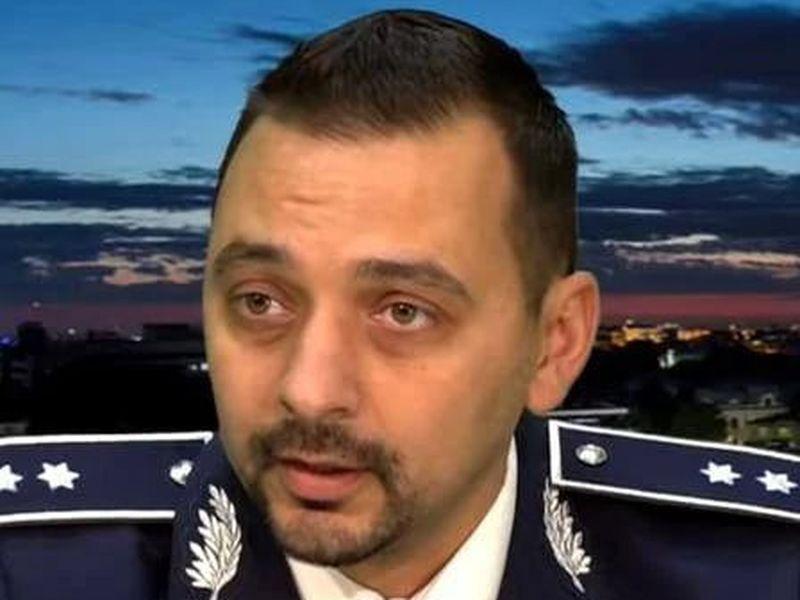 Comisarul-şef Cristian Ghica
