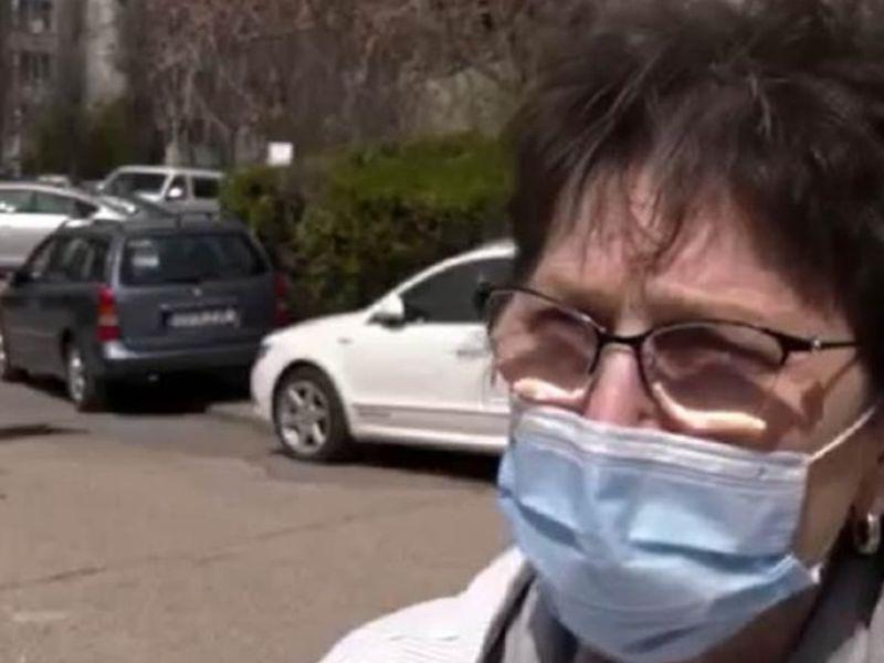 O femeie, bolnavă de cancer, își strigă disperarea