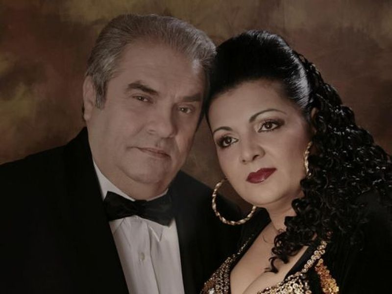 Aurel Pădureanu și Cornelia Catanga
