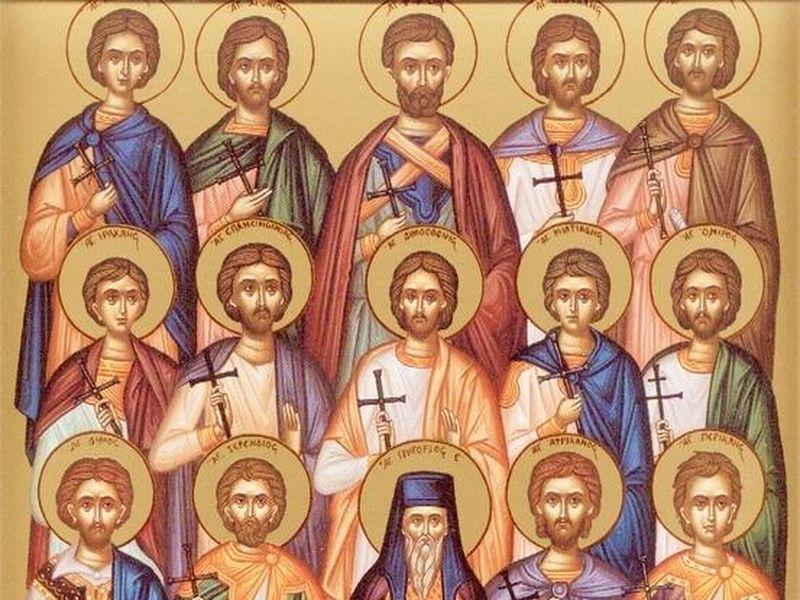 Ce sfinți sunt sărbătoriți astăzi