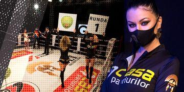 """Imagini exclusive cu Manuela de la """"Puterea Dragostei"""", în ringul MMA!"""