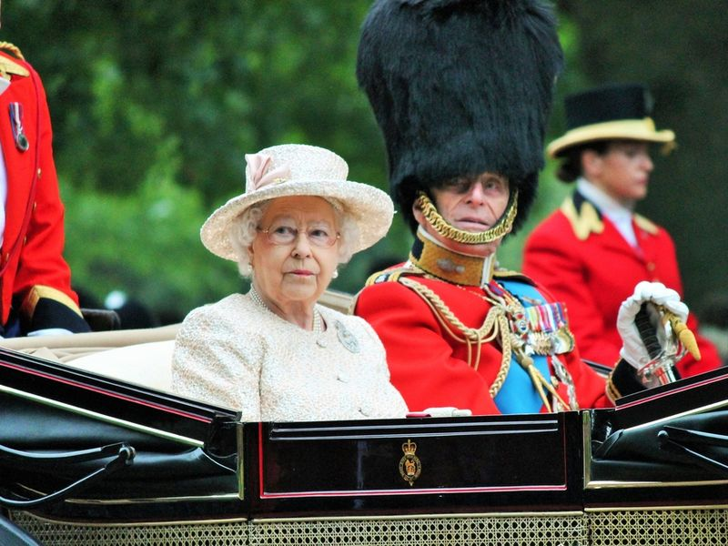 Prințul Philip  si Elisabeta a II-a