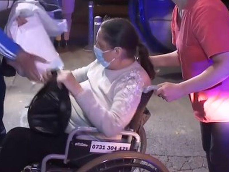 Evacuarea pacienților de la Spitalul Foișor.