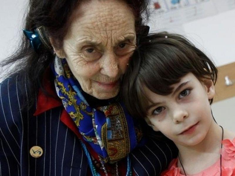 Adriana Iliescu și fiica ei