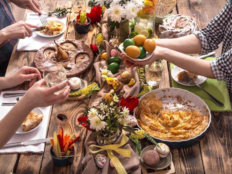 Reţete de Paşte pentru vegetarieni.