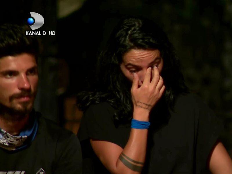 Vera Miron este eliminată de la Survivor România