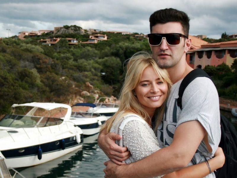 Smiley și Laura Cosoi