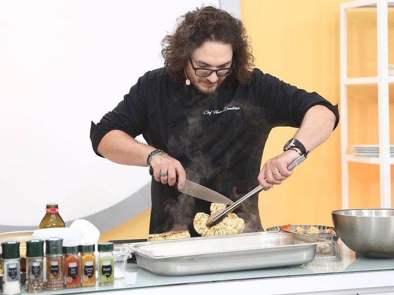 Cum arăta Chef Florin Dumitrescu în tinerețe