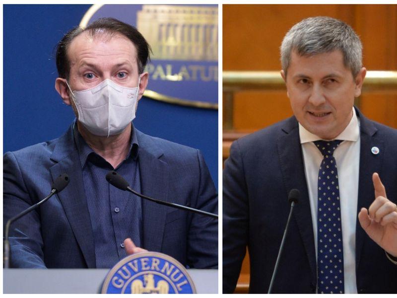 Florin Cîțu și Dan Barna