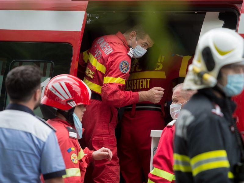 Incendiu la Spitalului Județean Slatina, secția de Psihiatrie. Peste 30 de persoane sunt internate