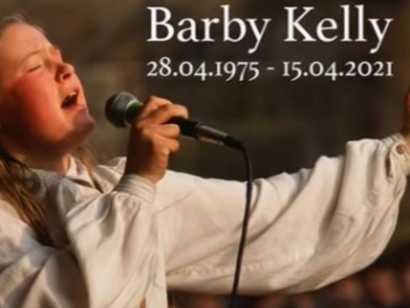 Barby Kelly, membră a trupei Kelly Family, a murit la 45 de ani.