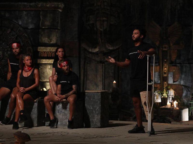 Jador și-a spart un dinte la Survivor România