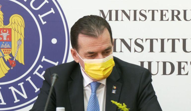 """Ludovic Orban, noi declarații despre campania de vaccinare: """"Mai puțin mulțumitor în mediul rural"""""""