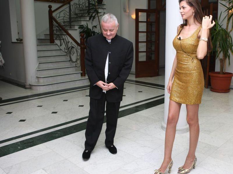 Monica Gabor și Irinel Columbeanu