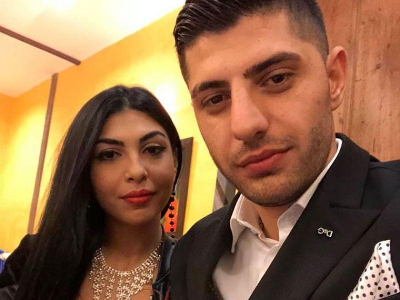 Nicu Guță și soția lui