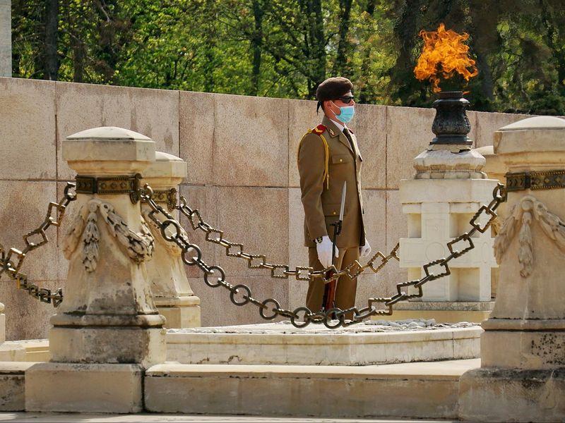 Soldat din Parcul Carol