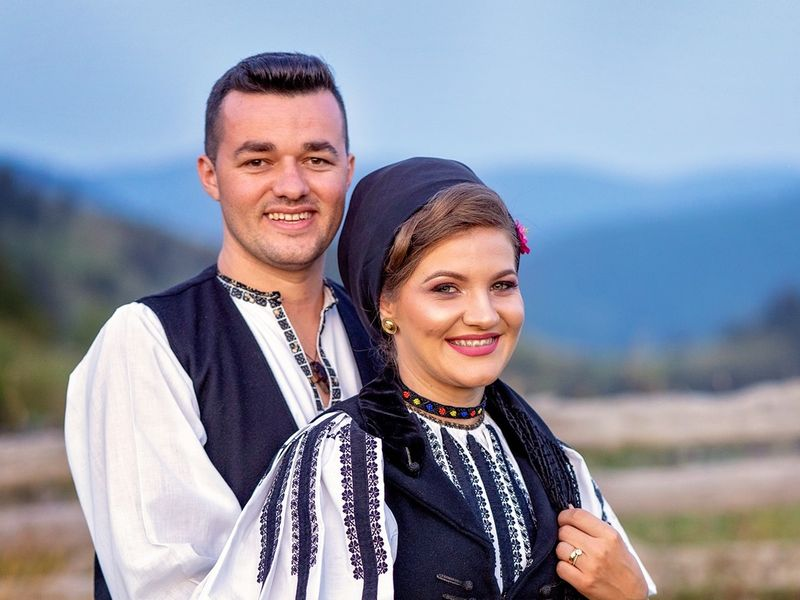 Claudia și Dumitru Stroie