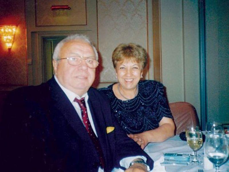 Alexandru Arsinel și soția lui