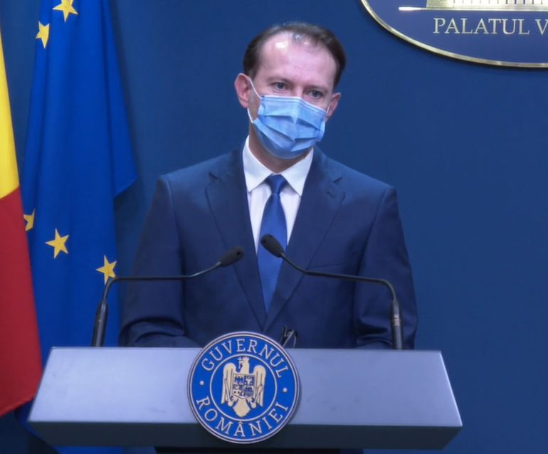 Florin Cîțu, declarații de ultimă oră! Ce relaxări pregătește Guvernul de la 1 iunie VIDEO