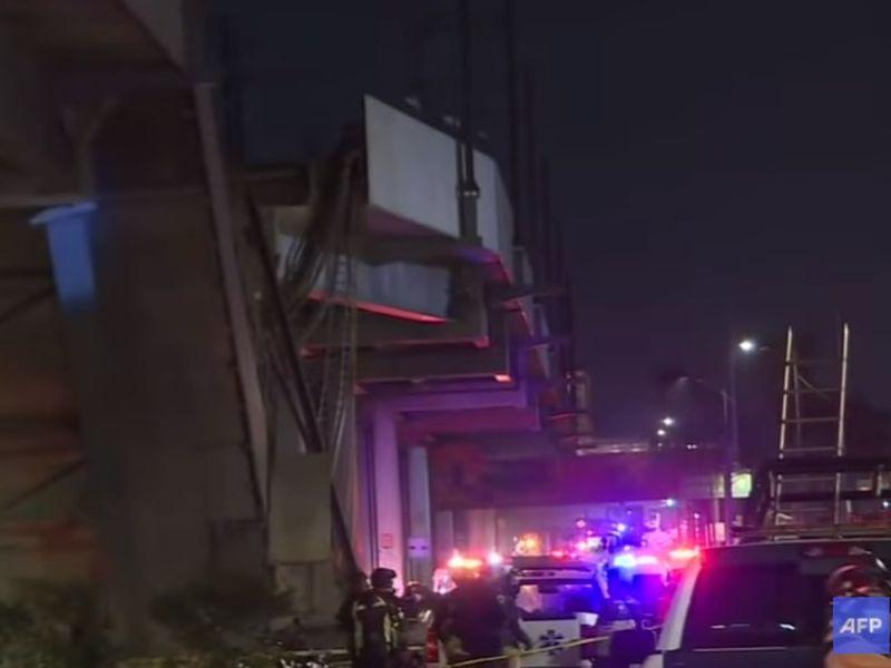 Tragedie în Mexic, după ce metroul suspendat s-a prăbușit