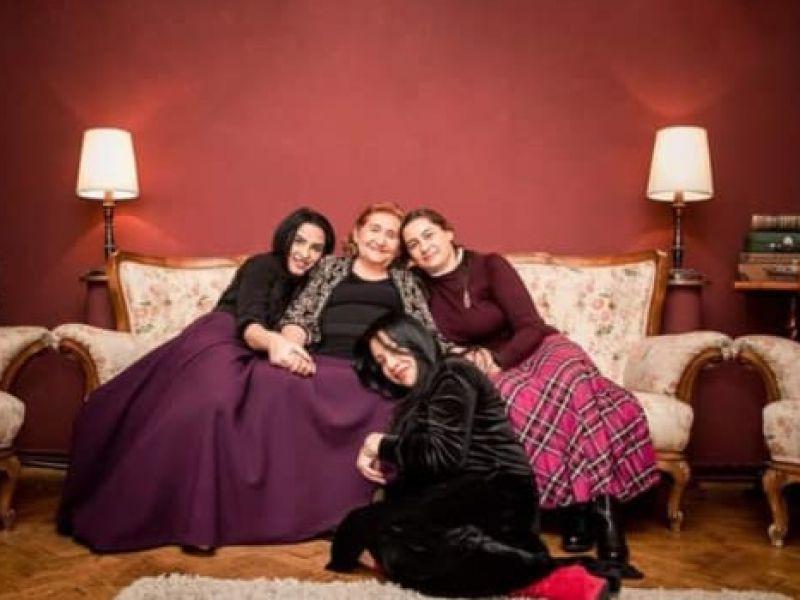Gabi Luncă și fiicele sale