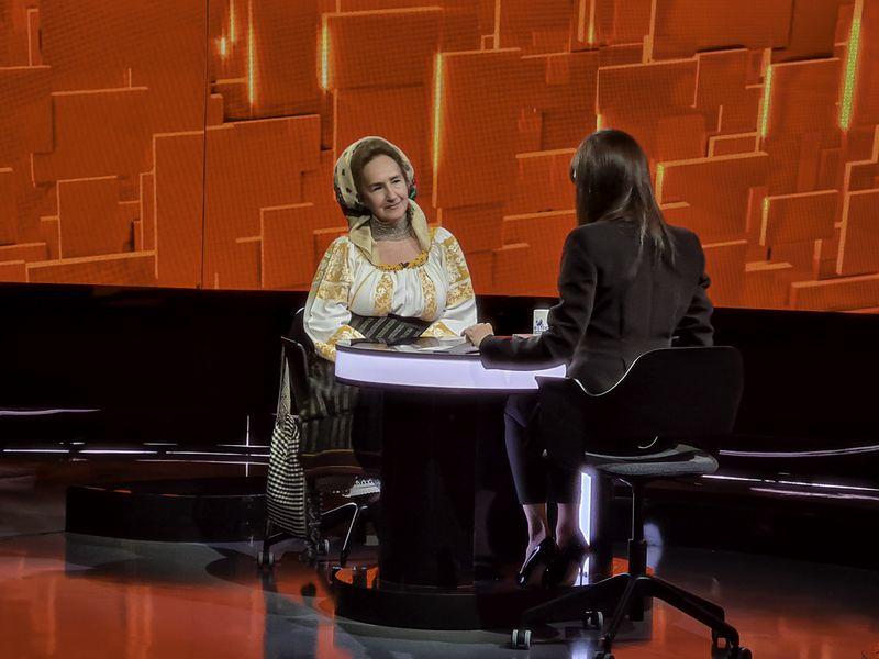 """Sofia Vicoveanca la """"40 de întrebări cu Denise Rifai"""""""
