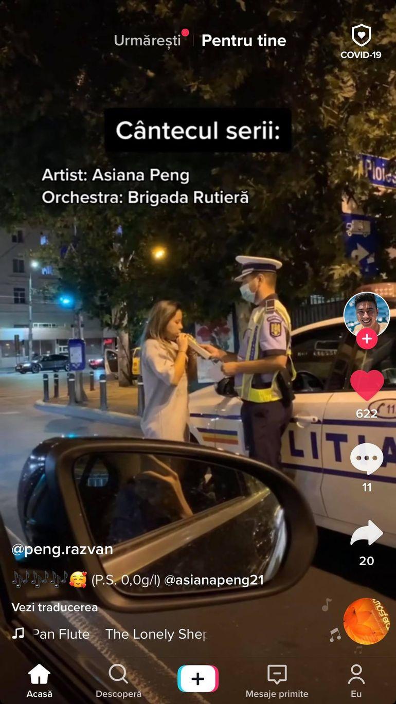 O fostă concurentă de la Survivor România, probleme cu poliția. A fost testată cu aparatul de alcoolemie