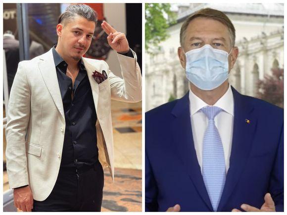 """Bogdan de la Ploiești, mesaj pentru Klaus Iohannis! Manelistul, bucuros de relaxarea restricțiilor: """"Te pup, finul meu!"""""""