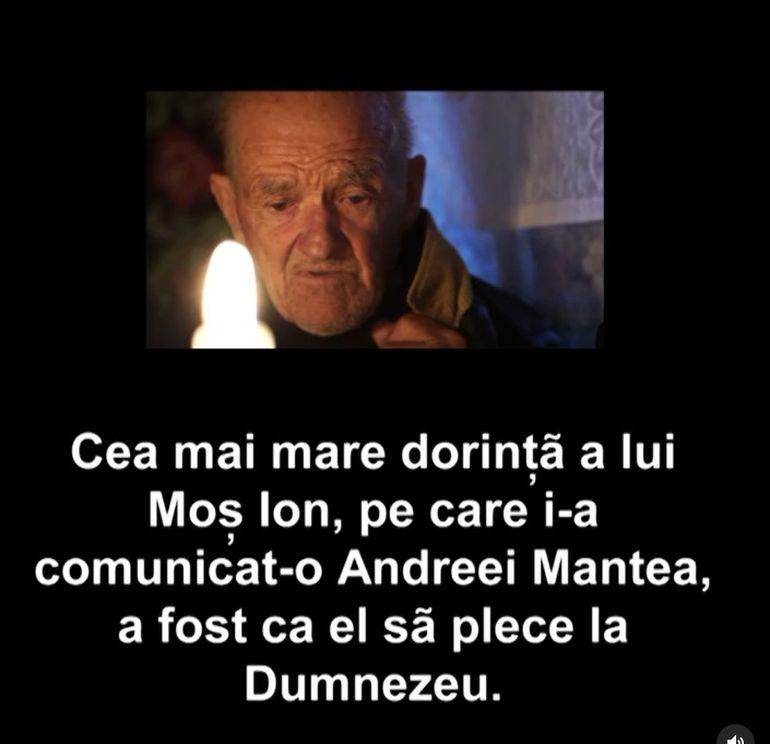 Andreea Mantea, șocată! L-a avut în emisiune, iar acum i-a anunțat moartea: