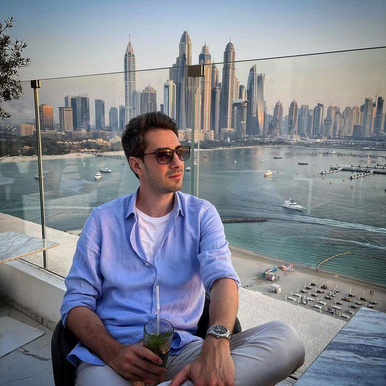 """Andreea Bălan și Tiberiu Argint sărbătoresc primul an împreună pe plaja din Dubai! """"La mulți ani, iubitul meu"""""""