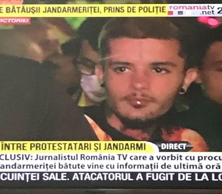 """Imagini inedite cu Zanni de la Survivor la protestele din 10 august! Faimosul, prins în mijlocul violențelor: """"A fost sinucidere curată"""" Dezvăluiri exclusive"""